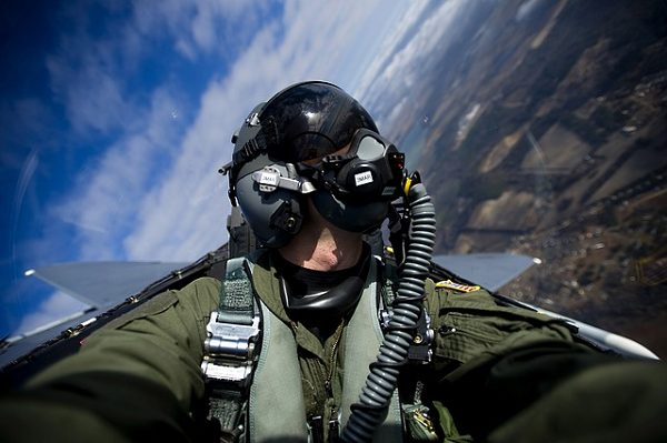 fighter pilots must watch their six