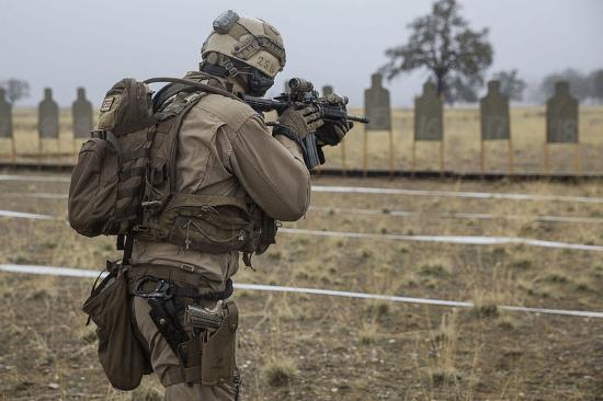 marine corps weapons handling