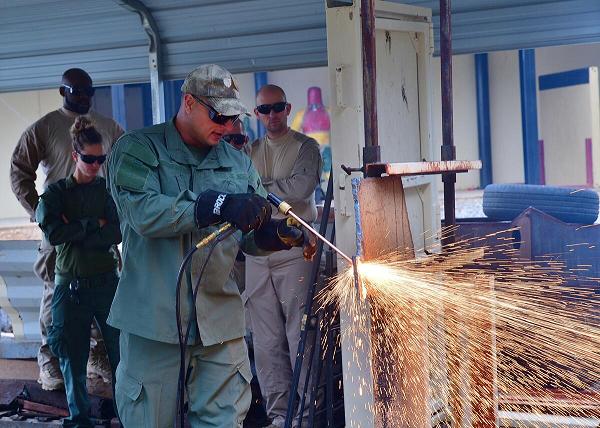 Training at Fort Benning