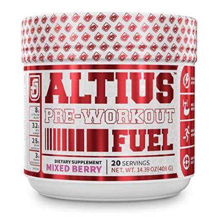 altius pre workout fuel