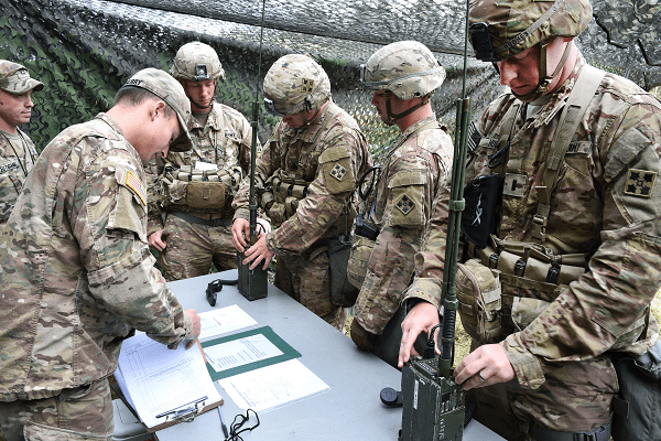 radio operators must understand several military call signs