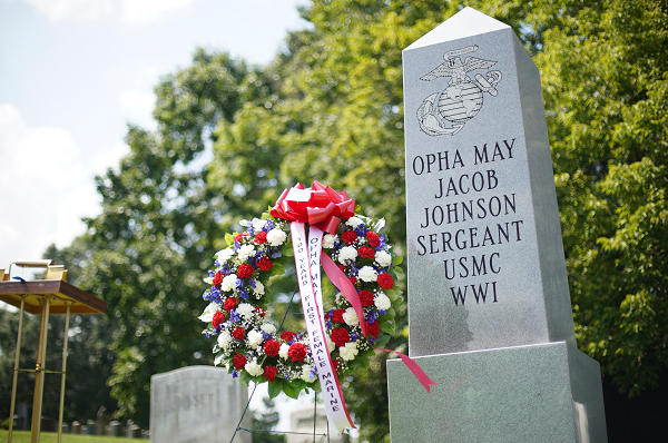 Opha May Johnson was the first female Marine