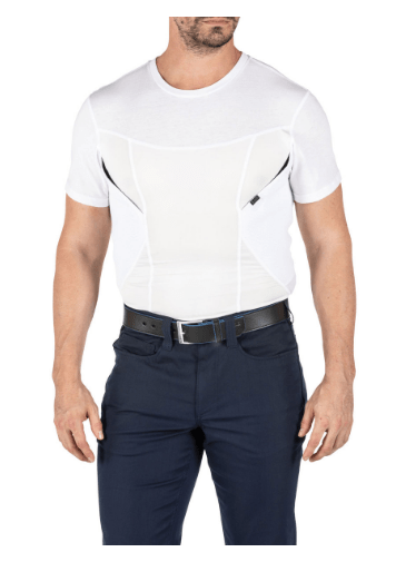 5.11 Men's CAMS Compression Base Layer Concealed Carry Holster Shirt