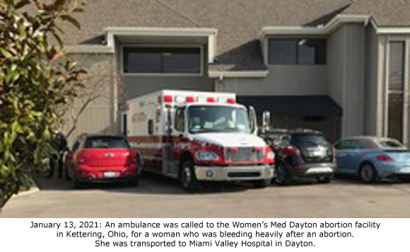 Heavy Bleeding After Abortion at Notorious Ohio Late-Term Abortion Business Hospitalizes Woman