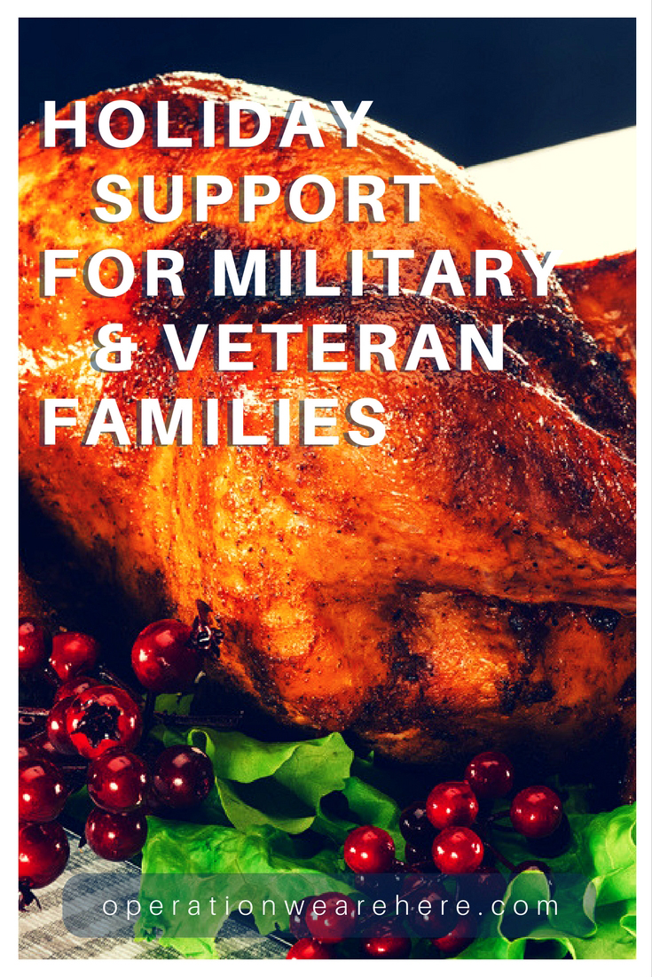 Adopt A Military Family Opportunities 2018 Thanksgiving