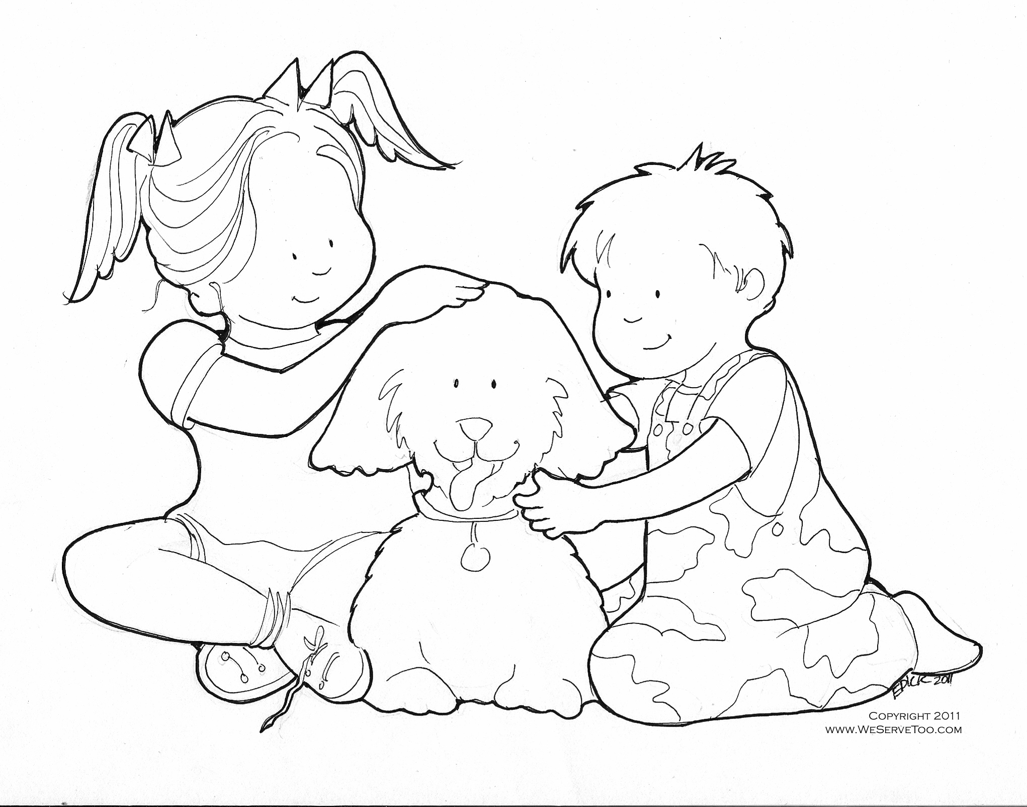 Caring Coloring Sheets Coloring Pages