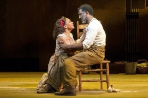 """Audra McDonald and Norm Lewis in """"Porgy and Bess"""" on Boradway"""