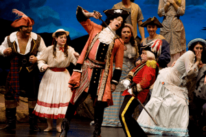 The Pirates of Penzance, in a production by the New York Gilbert and Sullivan Players