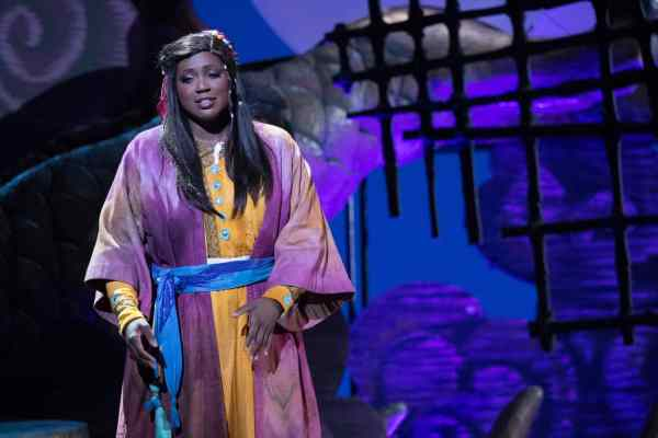 Soprano Angel Joy Blue is Liu in San Diego Opera's TURANDOT