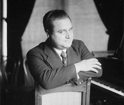 Beniamino Gigli by the piano