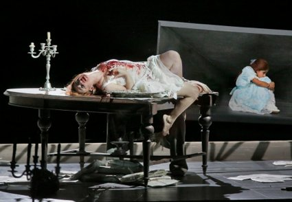 S FE SALOME 26 (425) BLOODY ON TABLE
