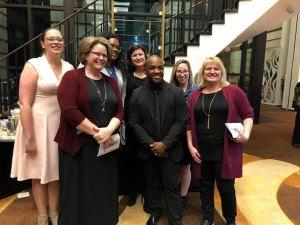 Tanya Hanano and fellow Opera Wilmington Board Members