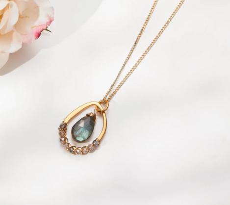 Michelle Pressler Labradorite Necklace