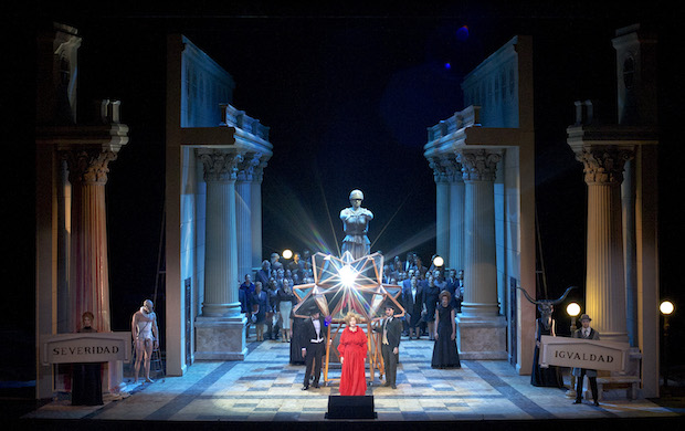 Beatrix Cenci de Ginastera en el Teatro Colón de Buenos Aires
