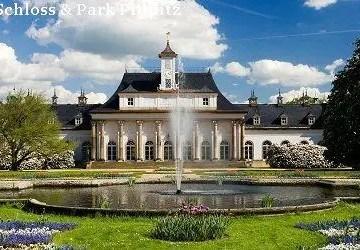 Neues Palais mit Lustgarten-Schloss und Park Pillnitz Singvogelzauber