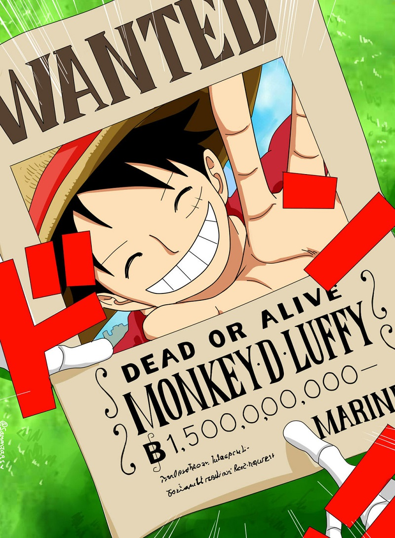 Disebutkan perang wano melebihi perang di marineford. The Evolution Of Luffy S Bounties From 1997 To 2018 One Piece