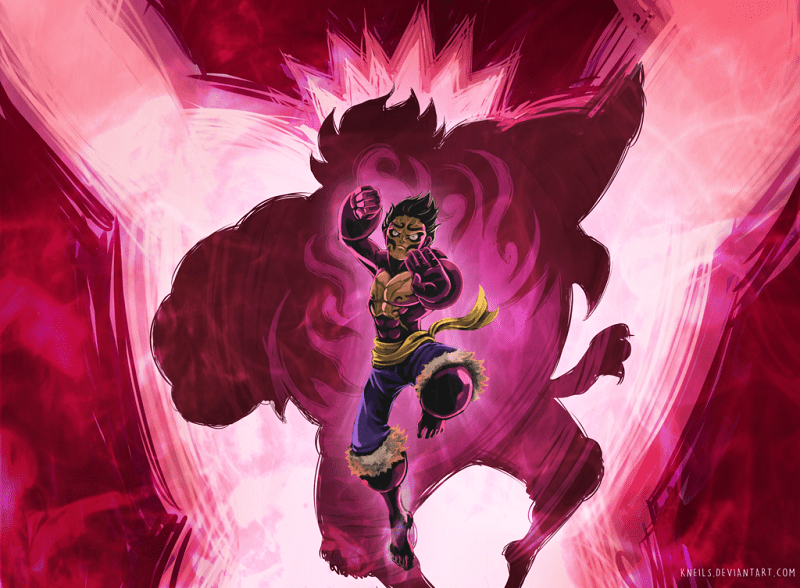 Luffy's gear 4 red man elepant schreider. Could This Be Gear 5 One Piece