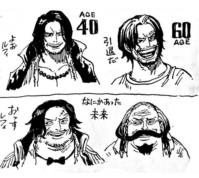 ↑ sbs one piece manga — vol. How One Piece Characters Would Look At 40 And 60 Years Old One Piece