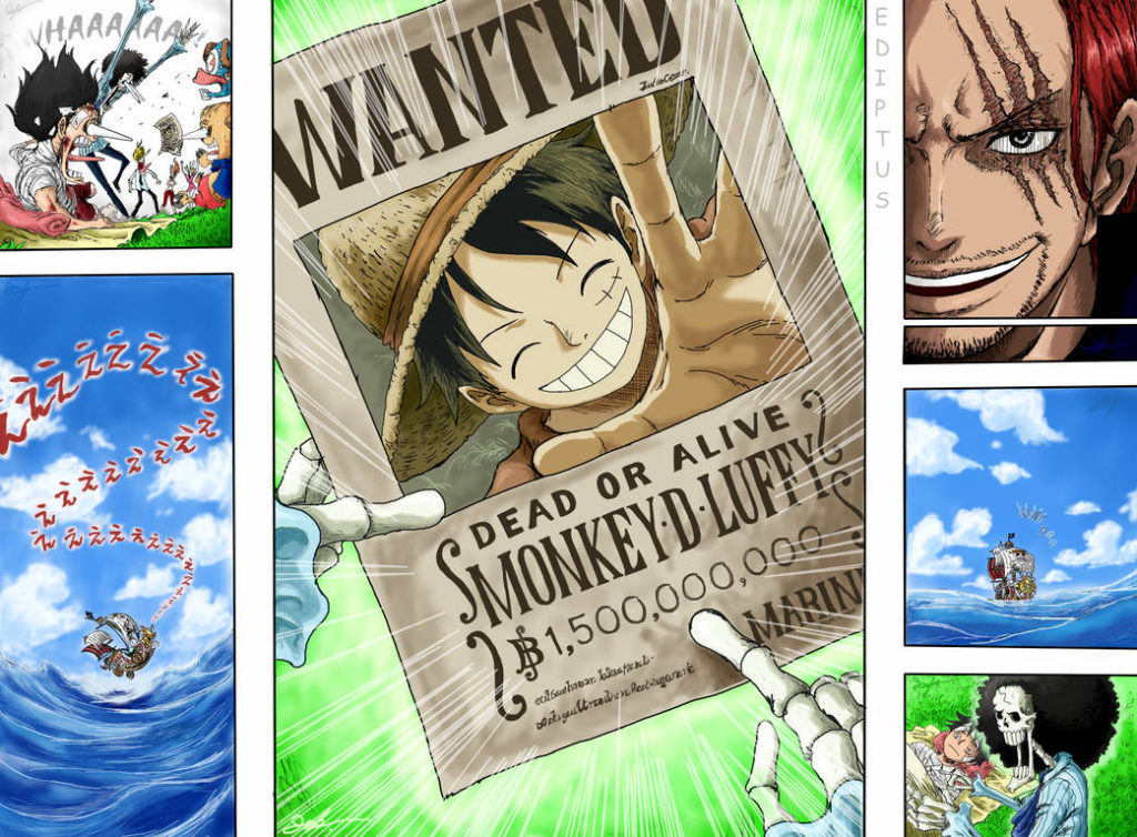 ↑ one piece manga and anime — vol. All 14 Straw Hat Pirates Members One Piece