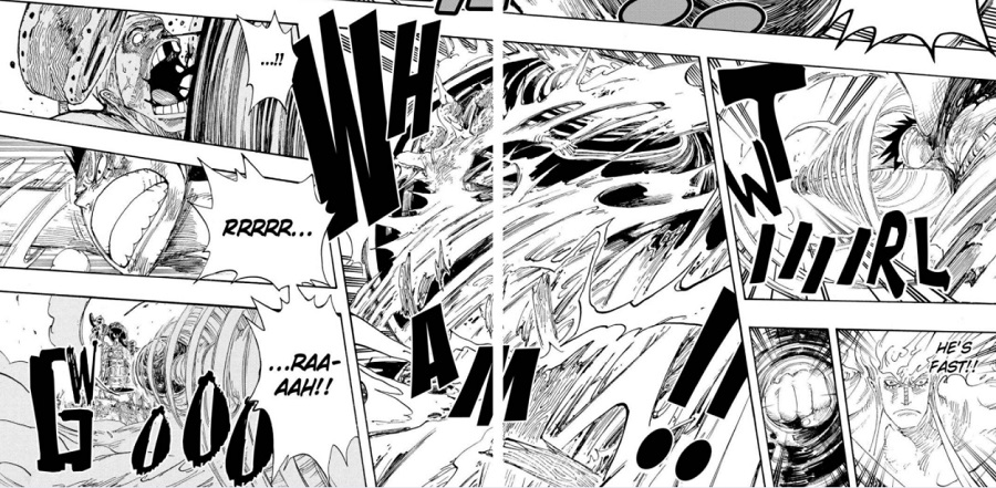 During the battle, enel realizes that he cannot hurt luffy because he is made of rubber. Luffy S Fights Duration One Piece
