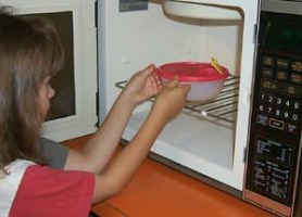 Please do not use plastic containers in freezers and microwaves