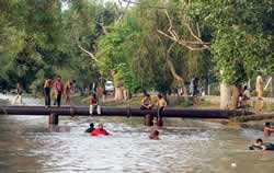Part of Lahore Canal to be swimming, picnic area