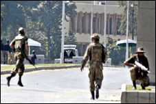 Of unarmed hostages and two brave commandos