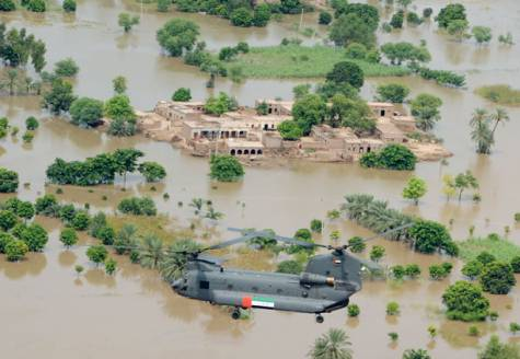 United Arab Emirates Relief Operations in Pakistan