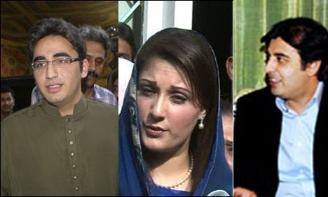 The next crop of Pakistani politicians: sons and daughters