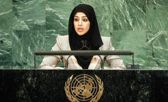 Reem Al Hashimy, UAE Minister of State and Managing Director of the Higher Committee for Hosting the 2020 World Expo