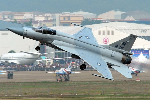 Pakistan airforce FC-1 Xiao Long AKA JF-17 Thunder.