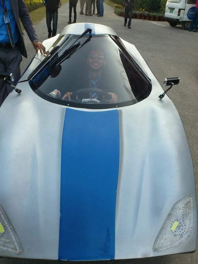 COMSATS-aerodynamic car-1