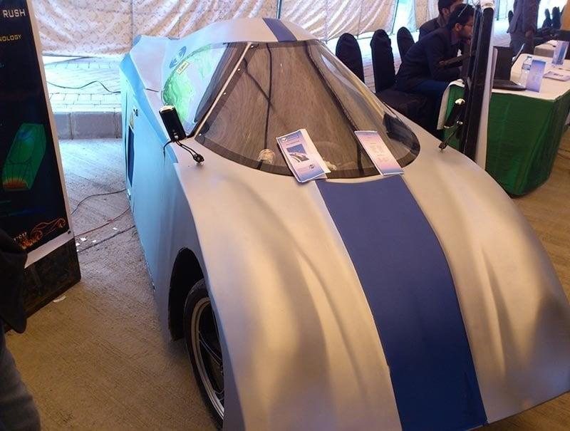 COMSATS-aerodynamic car-2
