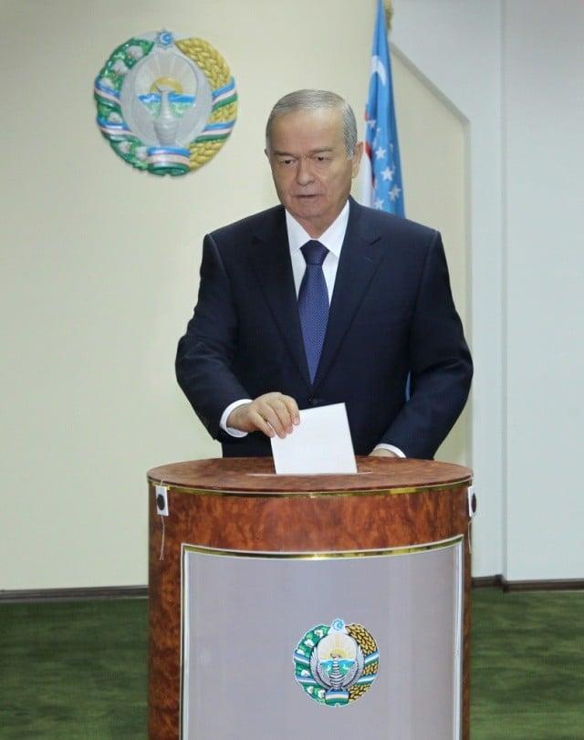 Karimov saylov