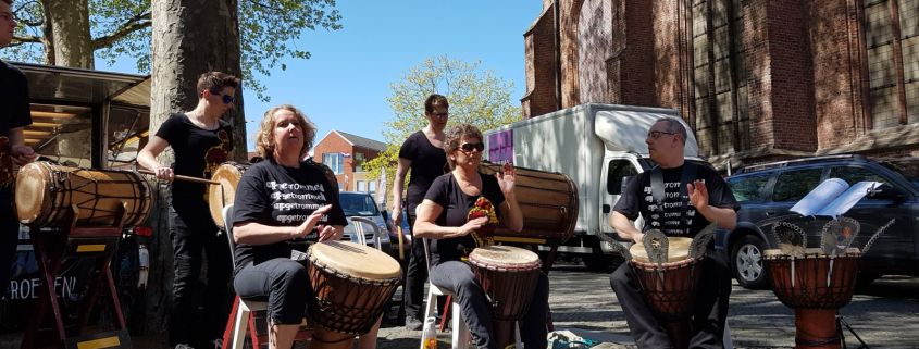Opgetrommeld Ladies op Bevrijdingsfestival