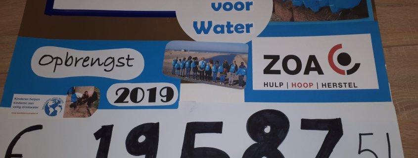 Opgetrommeld voor schoon drinkwater