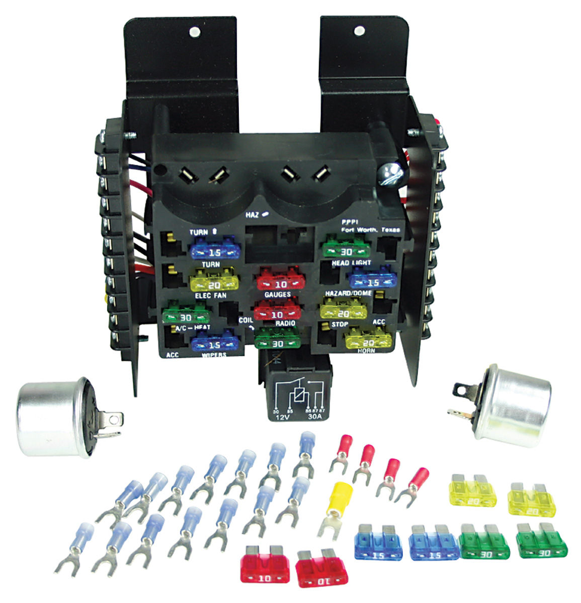 Painless Performance Circuit Fuse Block 14circuit Fits