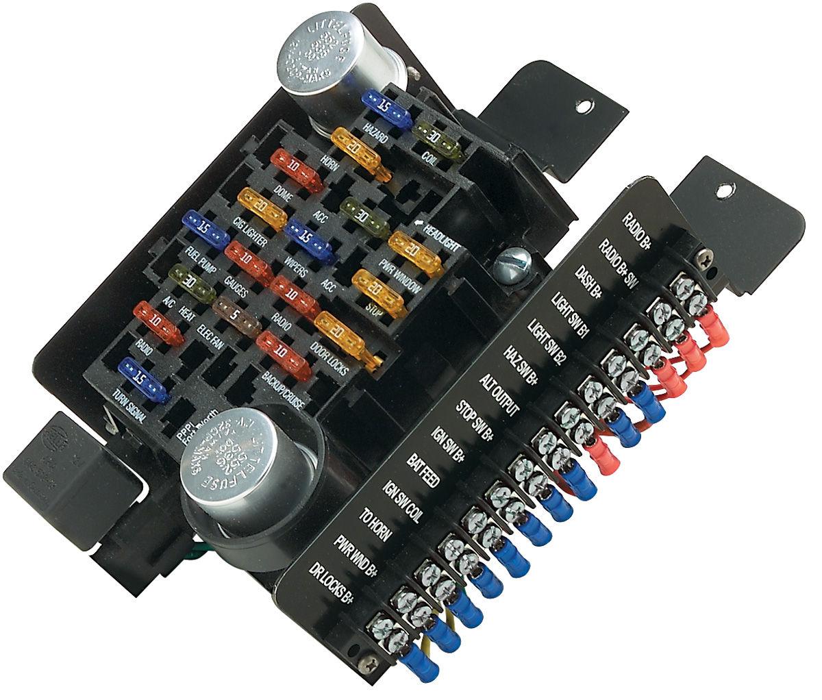 Painless Performance Circuit Fuse Block 20circuit Fits 196177 Cutlass442 @ OPGI