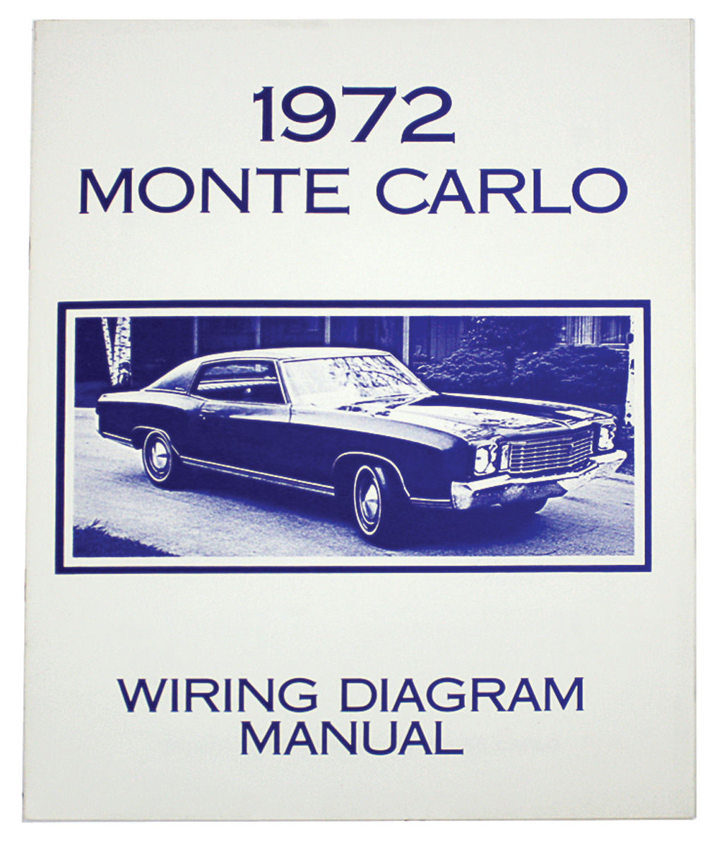 Monte Carlo Wiring Diagram Manuals Fits 1976 Monte Carlo