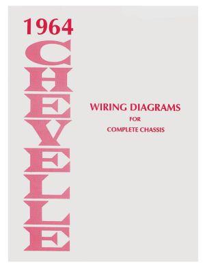 1966 El Camino Chevelle Wiring Diagram Manuals @ OPGI