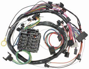 M&H DashInstrument Panel Harness wwarning lights & AC