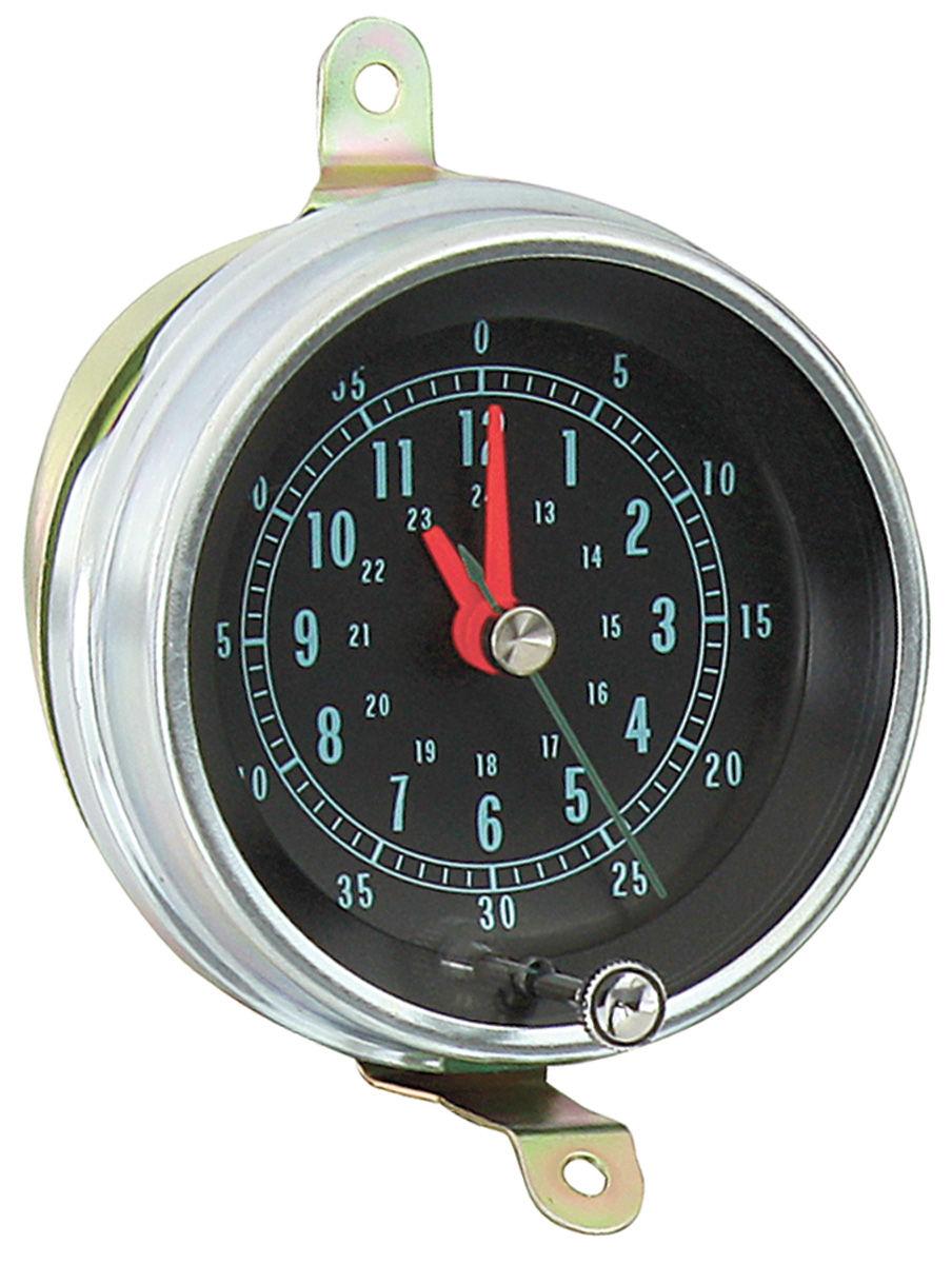 Console Clock Amp Lens Fits 1966 67 El Camino