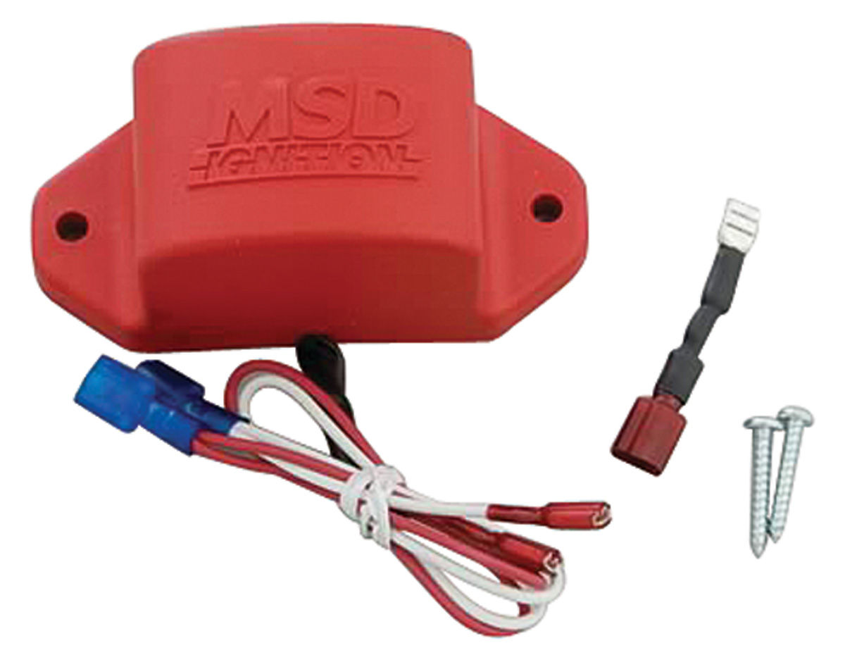 Msd Tachometer Adapter For Non Current Limiting Systems W