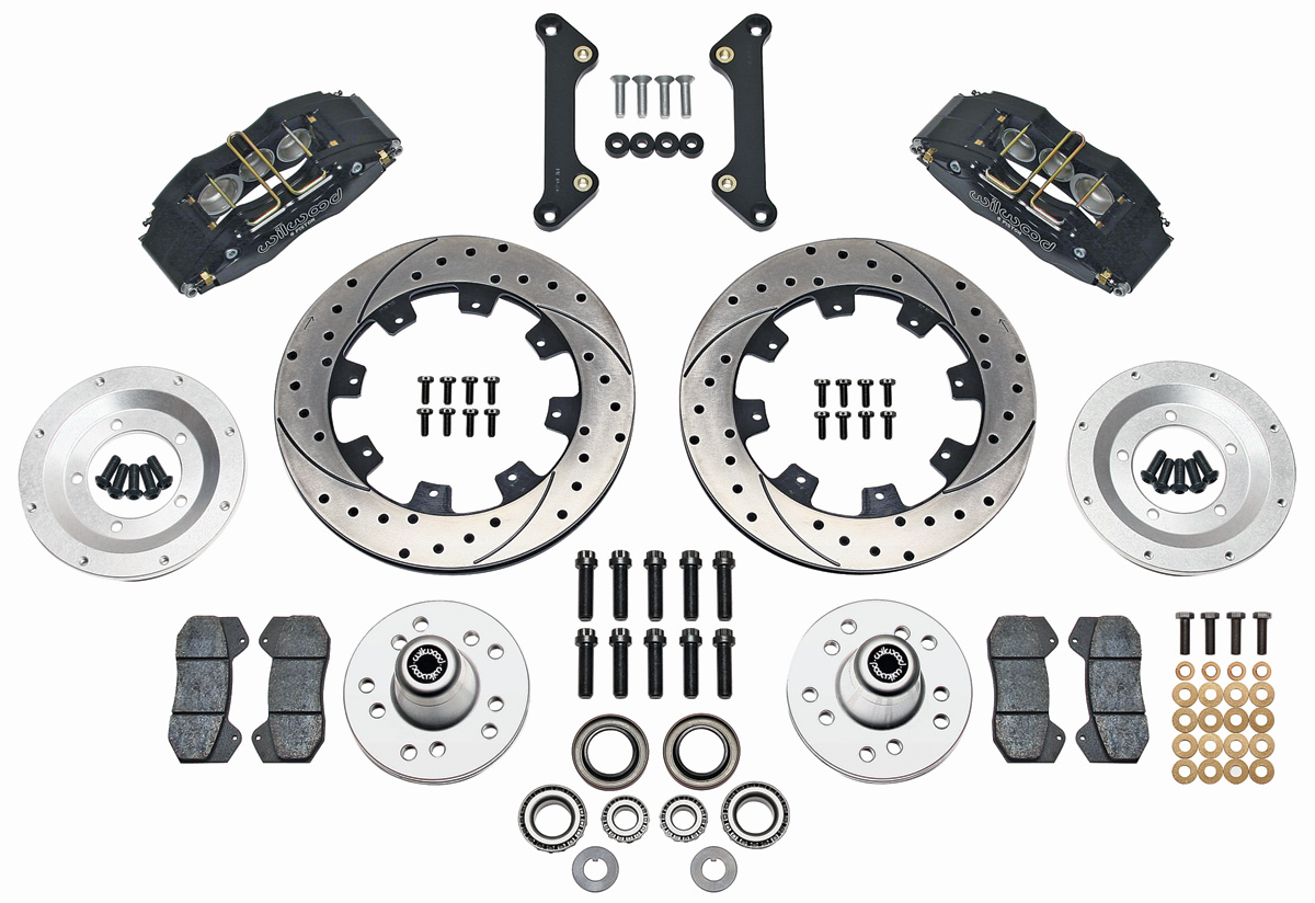 Wilwood 77 Chevelle Brake Kit Dynapro 6 Piston Front