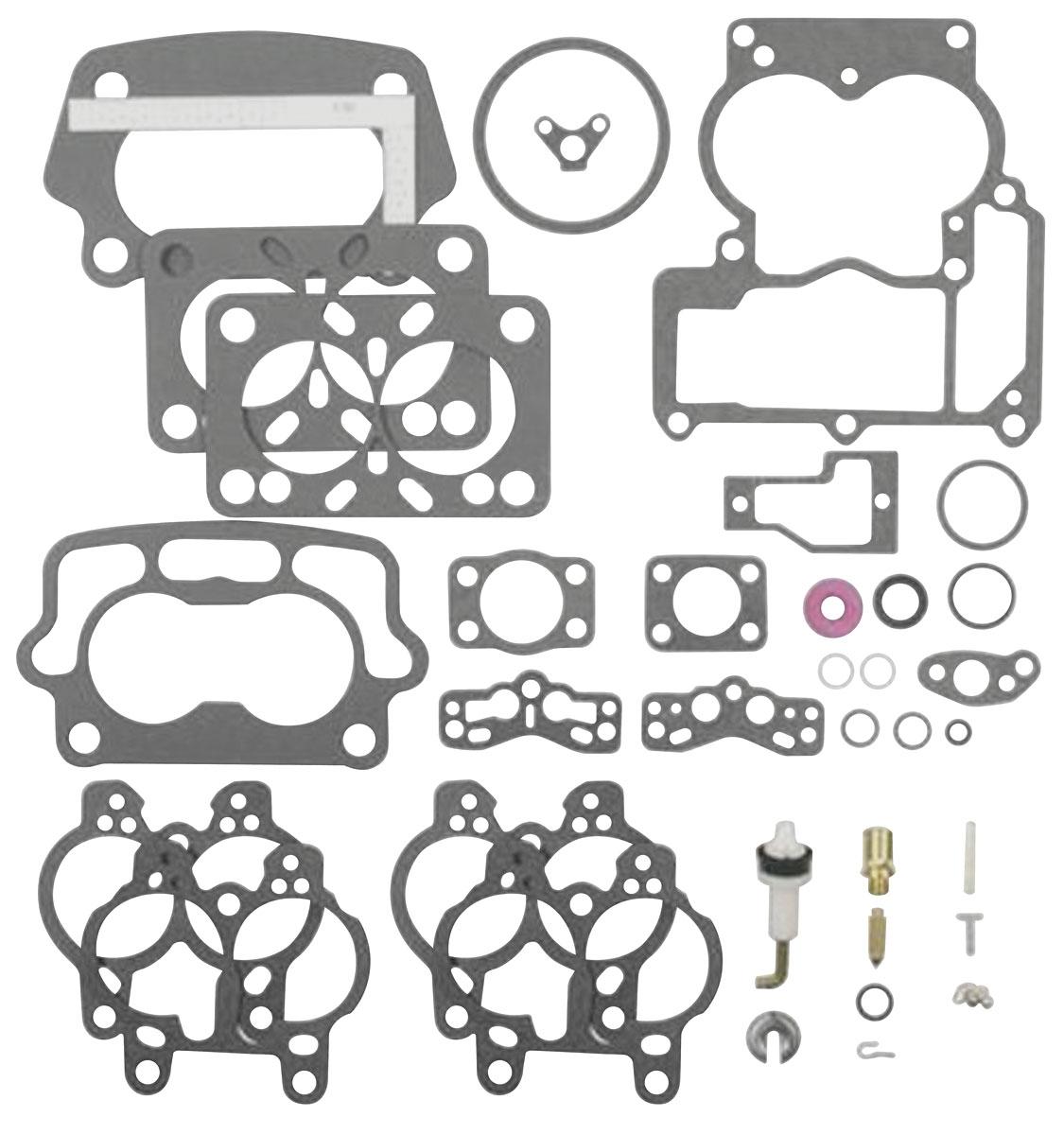 Carburetor Rebuild Kit Tri Power Center Carburetor Fits