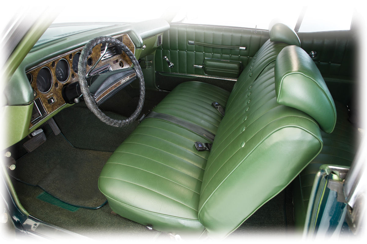 1971 72 Monte Carlo Interior Kit Stage II Monte Carlo Buckets Buckets For Years 1971 1972