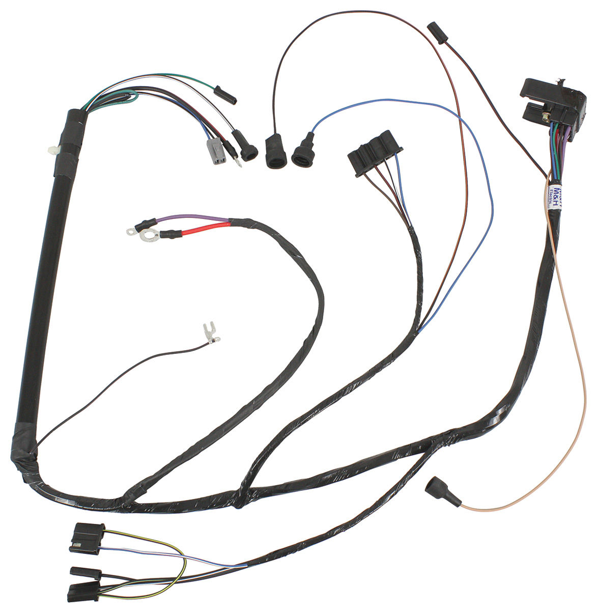 M Amp H Gto Engine Harness V8 Fits Gto Opgi