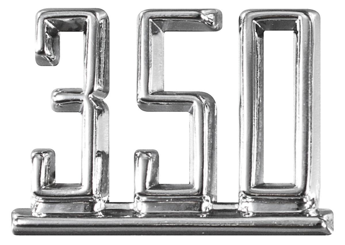 Restoparts Chevelle Fender Emblem 67 350 Opgi