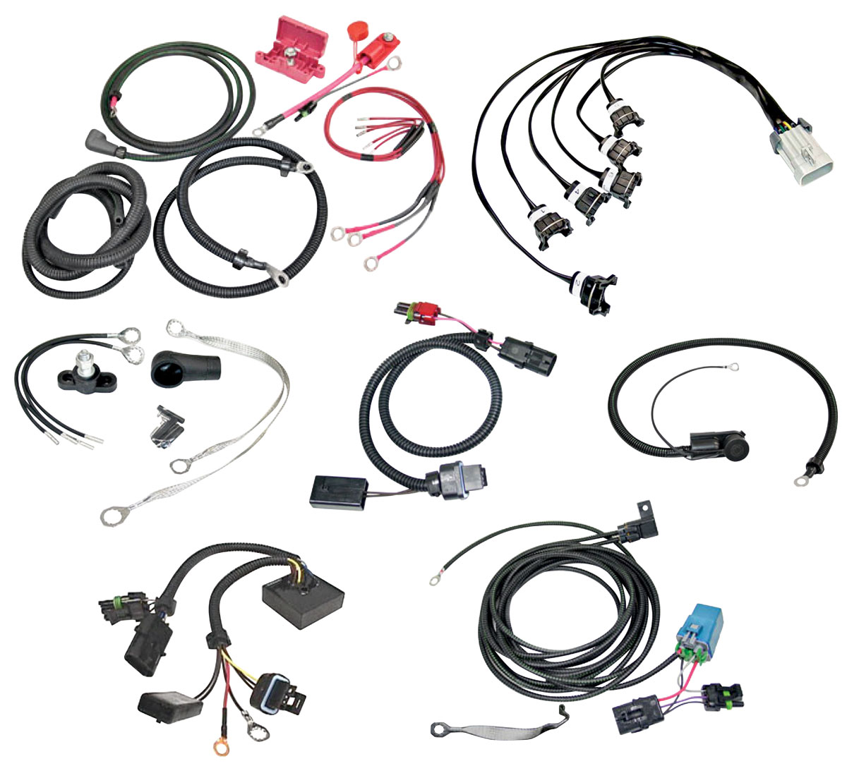 T Type Harness Wiring Upgrade Set Fits 87 T Type