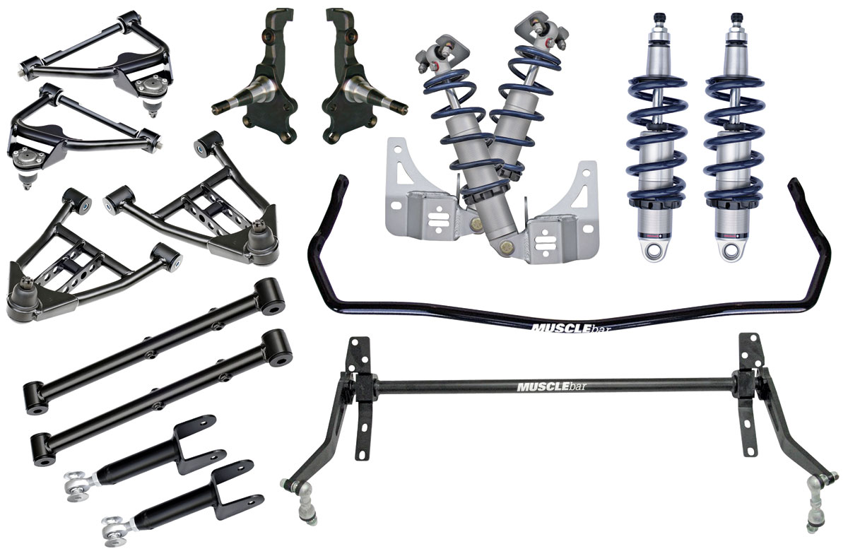 Ridetech Coil Over Kit Ride Tech Fits 72 Monte Carlo